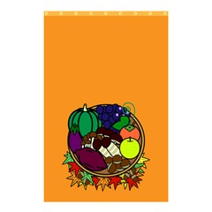 Healthy Vegetables Food Shower Curtain 48  X 72  (small)  by Mariart