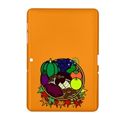 Healthy Vegetables Food Samsung Galaxy Tab 2 (10 1 ) P5100 Hardshell Case  by Mariart