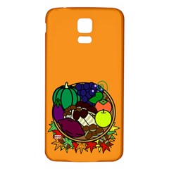 Healthy Vegetables Food Samsung Galaxy S5 Back Case (white) by Mariart