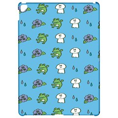 Frog Ghost Rain Flower Green Animals Apple Ipad Pro 12 9   Hardshell Case by Mariart