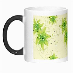Leaf Green Star Beauty Morph Mugs by Mariart
