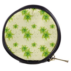 Leaf Green Star Beauty Mini Makeup Bags by Mariart