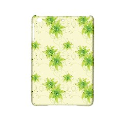 Leaf Green Star Beauty Ipad Mini 2 Hardshell Cases by Mariart