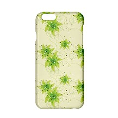 Leaf Green Star Beauty Apple Iphone 6/6s Hardshell Case by Mariart