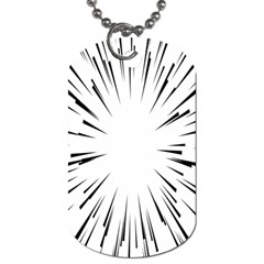 Line Black Sun Arrow Dog Tag (one Side) by Mariart