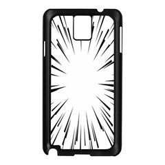 Line Black Sun Arrow Samsung Galaxy Note 3 N9005 Case (black) by Mariart