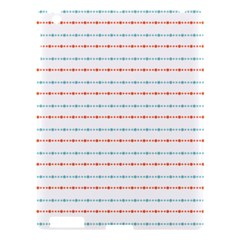 Line Polka Dots Blue Red Sexy Apple Ipad 3/4 Hardshell Case by Mariart