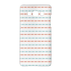 Line Polka Dots Blue Red Sexy Samsung Galaxy A5 Hardshell Case  by Mariart