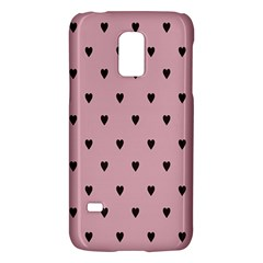 Love Black Pink Valentine Galaxy S5 Mini