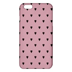 Love Black Pink Valentine Iphone 6 Plus/6s Plus Tpu Case by Mariart