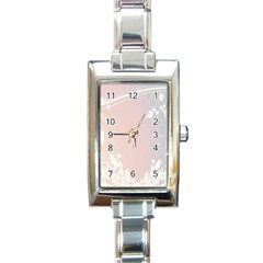 Love Heart Flower Purple Sexy Rose Rectangle Italian Charm Watch by Mariart