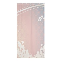 Love Heart Flower Purple Sexy Rose Shower Curtain 36  X 72  (stall)  by Mariart