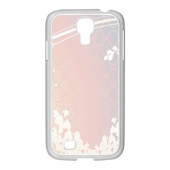 Love Heart Flower Purple Sexy Rose Samsung Galaxy S4 I9500/ I9505 Case (white) by Mariart