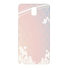 Love Heart Flower Purple Sexy Rose Samsung Galaxy Note 3 N9005 Hardshell Back Case by Mariart