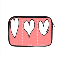Love Heart Valentine Pink White Sexy Apple Macbook Pro 15  Zipper Case
