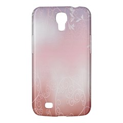 Love Heart Pink Valentine Flower Leaf Samsung Galaxy Mega 6 3  I9200 Hardshell Case by Mariart