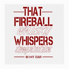 Fireball Whiskey Humor  Medium Glasses Cloth (2 Side) by crcustomgifts