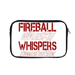 Fireball Whiskey Humor  Apple Macbook Pro 13  Zipper Case by crcustomgifts