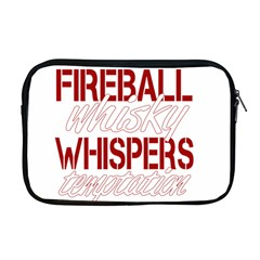 Fireball Whiskey Humor  Apple Macbook Pro 17  Zipper Case by crcustomgifts