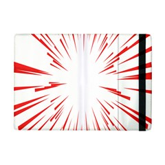 Line Red Sun Arrow Ipad Mini 2 Flip Cases by Mariart