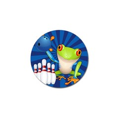 Tree Frog Bowling Golf Ball Marker (4 Pack) by crcustomgifts