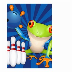 Tree Frog Bowling Small Garden Flag (two Sides) by crcustomgifts