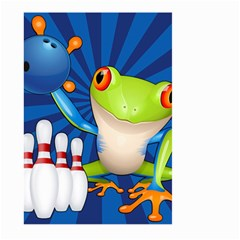 Tree Frog Bowling Large Garden Flag (two Sides) by crcustomgifts