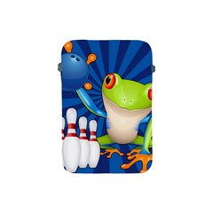 Tree Frog Bowling Apple Ipad Mini Protective Soft Cases by crcustomgifts