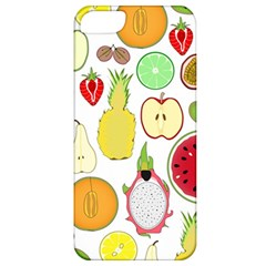 Mango Fruit Pieces Watermelon Dragon Passion Fruit Apple Strawberry Pineapple Melon Apple Iphone 5 Classic Hardshell Case by Mariart
