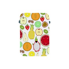 Mango Fruit Pieces Watermelon Dragon Passion Fruit Apple Strawberry Pineapple Melon Apple Ipad Mini Protective Soft Cases by Mariart