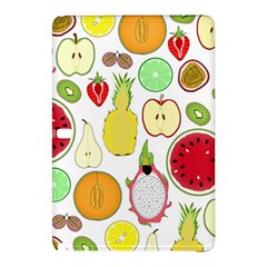 Mango Fruit Pieces Watermelon Dragon Passion Fruit Apple Strawberry Pineapple Melon Samsung Galaxy Tab Pro 12 2 Hardshell Case by Mariart