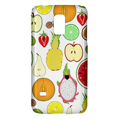 Mango Fruit Pieces Watermelon Dragon Passion Fruit Apple Strawberry Pineapple Melon Galaxy S5 Mini by Mariart