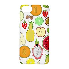 Mango Fruit Pieces Watermelon Dragon Passion Fruit Apple Strawberry Pineapple Melon Apple Iphone 7 Hardshell Case by Mariart