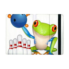 Tree Frog Bowler Apple Ipad Mini Flip Case by crcustomgifts