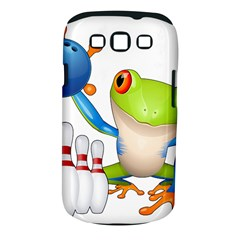 Tree Frog Bowler Samsung Galaxy S Iii Classic Hardshell Case (pc+silicone) by crcustomgifts