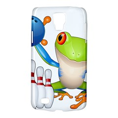 Tree Frog Bowler Galaxy S4 Active by crcustomgifts