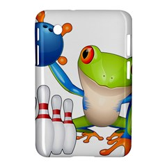 Tree Frog Bowler Samsung Galaxy Tab 2 (7 ) P3100 Hardshell Case  by crcustomgifts