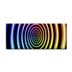 Hypnotic Circle Rainbow Cosmetic Storage Cases by Mariart