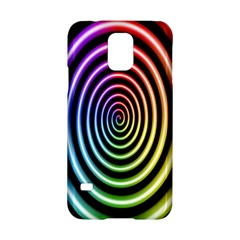 Hypnotic Circle Rainbow Samsung Galaxy S5 Hardshell Case  by Mariart