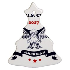 New U S  Citizen Eagle 2017  Ornament (christmas Tree)  by crcustomgifts