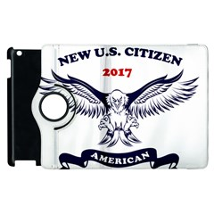New U S  Citizen Eagle 2017  Apple Ipad 3/4 Flip 360 Case by crcustomgifts