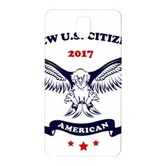New U S  Citizen Eagle 2017  Samsung Galaxy Note 3 N9005 Hardshell Back Case by crcustomgifts