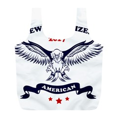 New U S  Citizen Eagle 2017  Full Print Recycle Bags (l)  by crcustomgifts