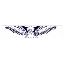 New U S  Citizen Eagle 2017  Flano Scarf (small) by crcustomgifts