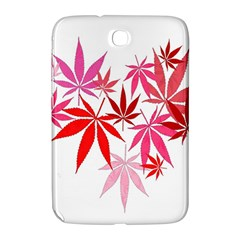 Marijuana Cannabis Rainbow Pink Love Heart Samsung Galaxy Note 8 0 N5100 Hardshell Case  by Mariart
