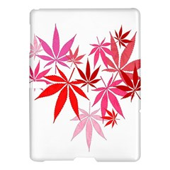 Marijuana Cannabis Rainbow Pink Love Heart Samsung Galaxy Tab S (10 5 ) Hardshell Case  by Mariart