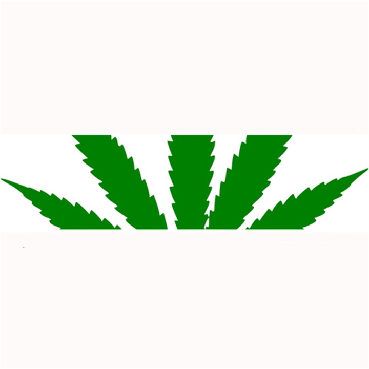 Marijuana Weed Drugs Neon Cannabis Green Leaf Sign Large Bar Mats