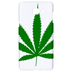 Marijuana Weed Drugs Neon Cannabis Green Leaf Sign Samsung C9 Pro Hardshell Case  by Mariart