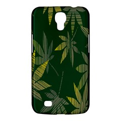 Marijuana Cannabis Rainbow Love Green Yellow Leaf Samsung Galaxy Mega 6 3  I9200 Hardshell Case by Mariart