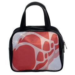 Meat Classic Handbags (2 Sides) by Mariart